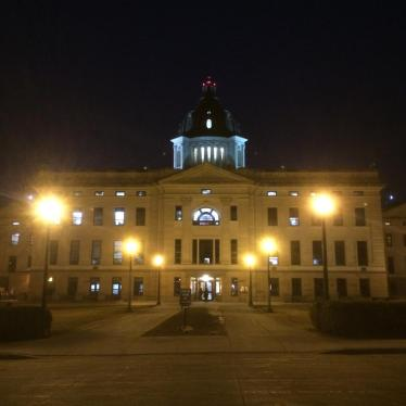 Dispatches: South Dakota Nears Dangerous Precedent