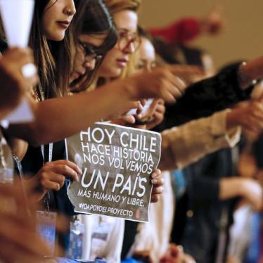 Dispatches: Chile's Welcome Move on Abortion