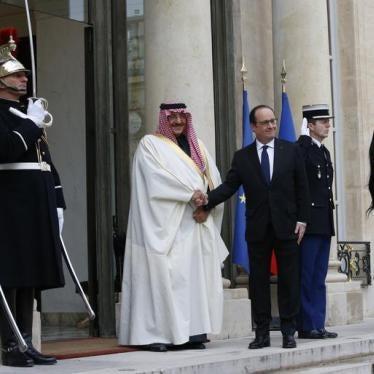 Dispatches: Awarding Bad Behavior in Saudi Arabia
