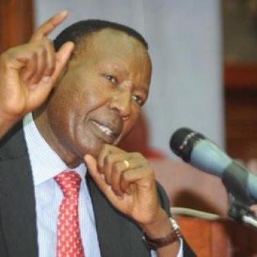 Dispatches - Media Freedom Under Threat in Kenya