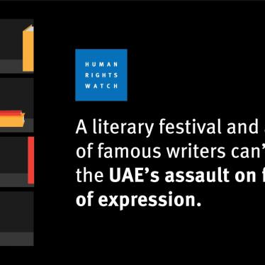 Dispatches: The UAE's Literary Festival in a Vacuum
