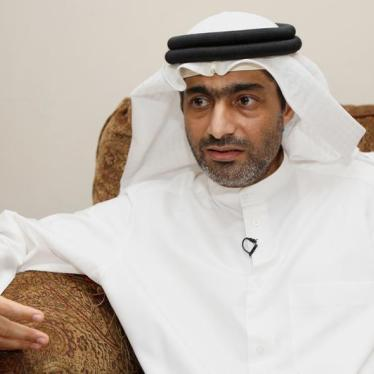 UAE: Free Prominent Rights Defender