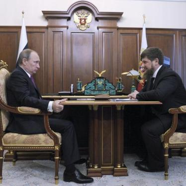 Dispatches: The Price of Dissent in Chechnya
