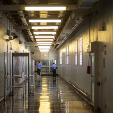 Dispatches: US Coming to Grips on Prison Sentencing