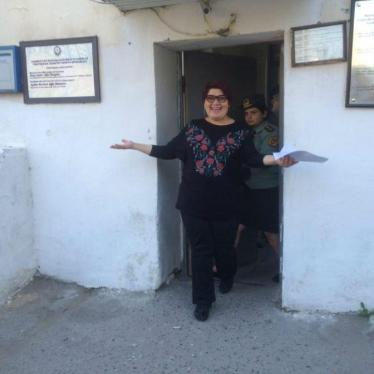 Dispatches: Leading Azerbaijani Journalist Freed From Prison