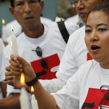 Burma: End Prosecutions for Critical Speech