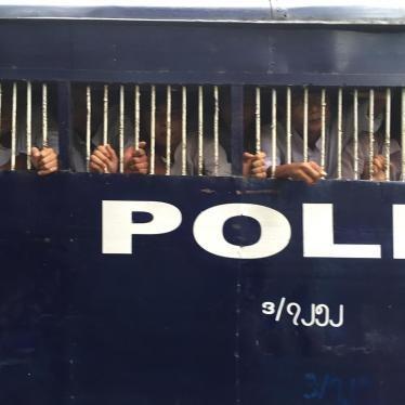 ဖိနှိပ်မှုယန္တရားကြီးကို ဖျက်သိမ်းပစ်ပါ မြန်မာပြည်