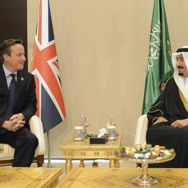 Dispatches: UK's Failed Efforts to Curb Saudi Torture