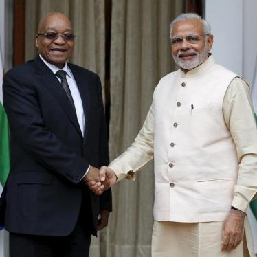 Dispatches: Are Rights on the Agenda for India's and South Africa's Leaders?