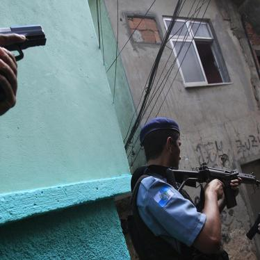Dispatches: Police Killings and Public Security in Rio