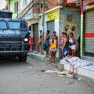 Brazil: Police Abuses Feed Cycle of Violence
