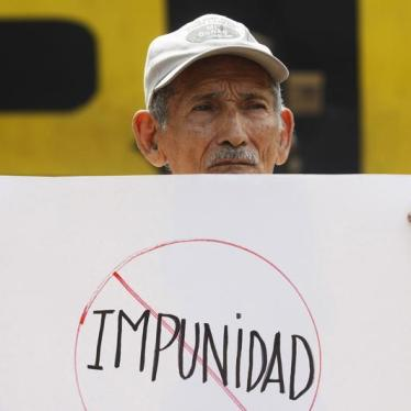 Dispatches: El Salvador Court Sends a Message to Proponents of Impunity