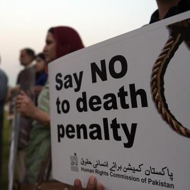 Dispatches: Pakistan's Death Penalty Hypocrisy