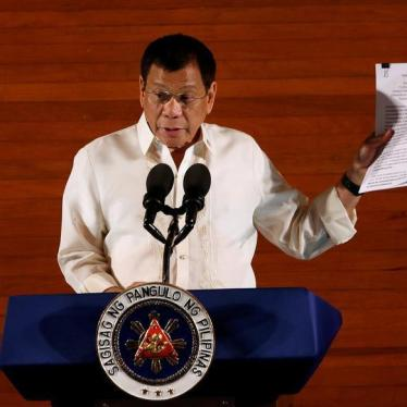 Dispatches: President Duterte's Mixed Messages on Rights in the Philippines