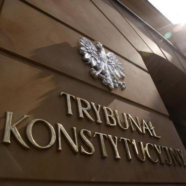 Dispatches: EU Pushes Poland to Keep High Court Independent