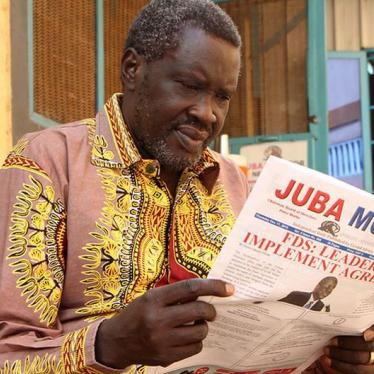 Dispatches: Speaking Truth to Power Is a Crime in South Sudan