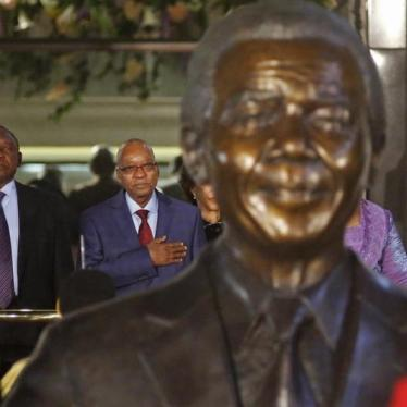 Dispatches:  A Betrayal of Mandela's Legacy
