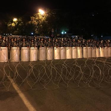 Armenia: Excessive Police Force at Protest