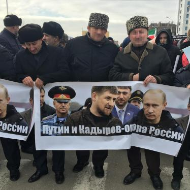 Russia: Pre-election Crackdown in Chechnya