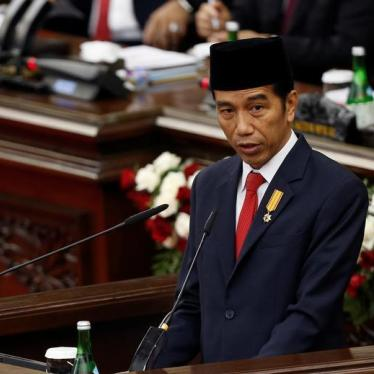 Indonesia's President Jokowi Silent on Human Rights