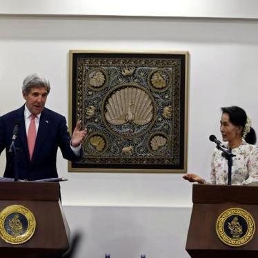 Burma: US Should Retain Key Sanctions