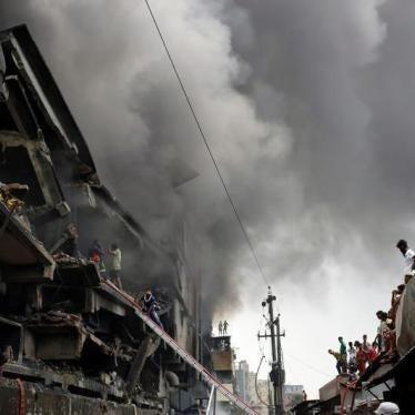 Fatal Factory Fire in Bangladesh is Déjà Vu