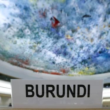 Act Swiftly to End Impunity in Burundi