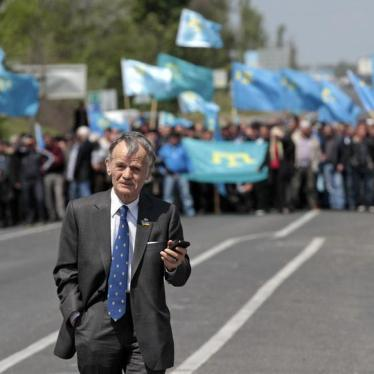 Crimean Tatar Elected Body Banned in Russia