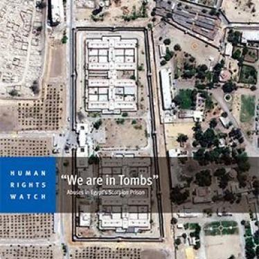 """Ägypten: Schwere Menschenrechtsverletzungen im Gefängnis """"Skorpion"""""""