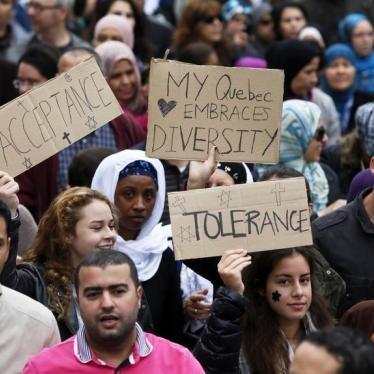 Intolerance Unveiled in Quebec