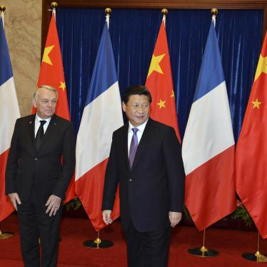 France: Raise China's Rights Abuses on Visit