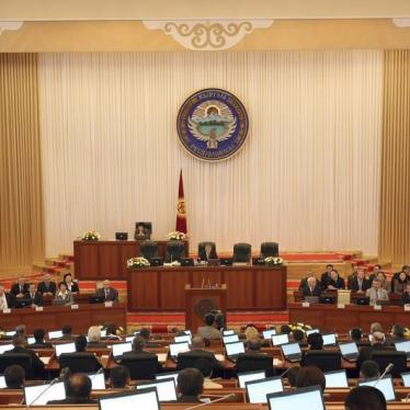 Constitutional Change Beckons in Kyrgyzstan