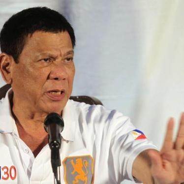 Filipino Overseas Workers in Peril of 'Drug War' Killings