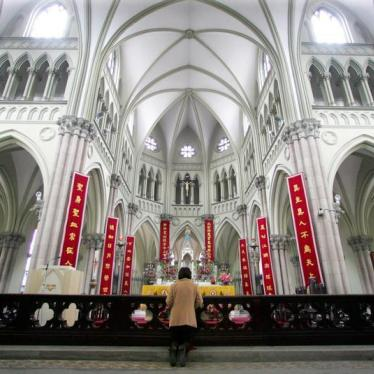 Why Does the Vatican Have Faith in China's Promises?