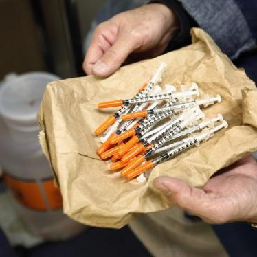 US Town Shows the Dangers of Banning Syringe Exchanges