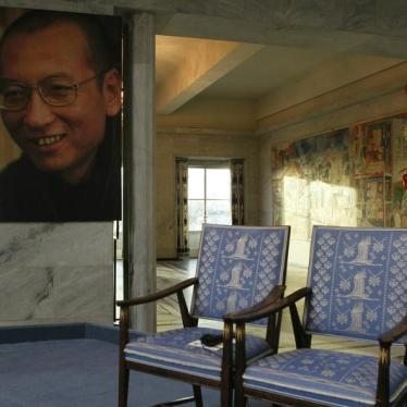 Filling Liu Xiaobo's Empty Chair