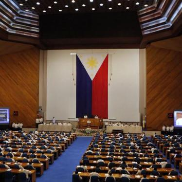 Philippines: Don't Reinstate Death Penalty