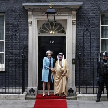 الزعيمة البريطانية ترد بشراسة على منتقدي العلاقات الودية مع البحرين