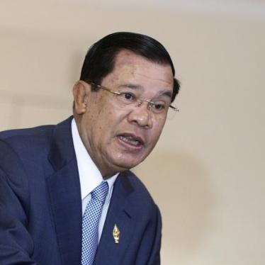 Cambodia: End Threats to Peaceful Protest