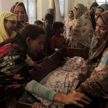 Dispatches: Bad Moves to Stem Terror in Pakistan