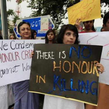 'Honor' Killings Continue in Pakistan Despite New Law