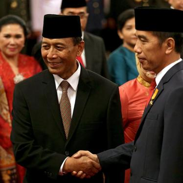 Indonesia: Indicted General Unfit for Cabinet Post