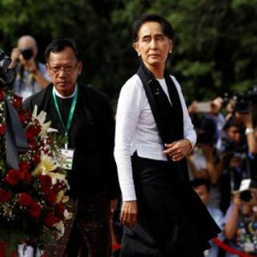 Burma's Aung San Suu Kyi Returns to China