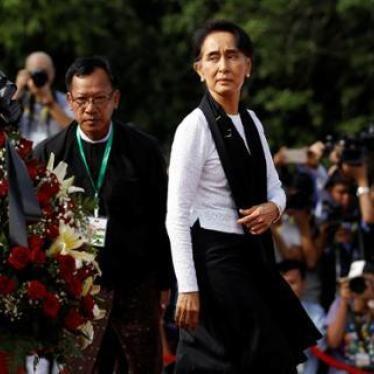 缅甸昂山素季重回中国