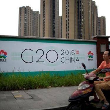 中国:G20首脳は弾圧停止を訴えるべき