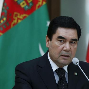 Turkmenistan: Berlin Should Urge End to 'Disappearances'