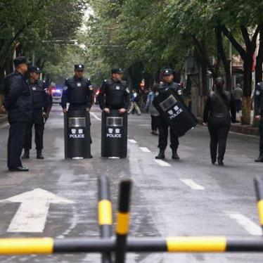 China: Credibly Investigate Xinjiang Blast