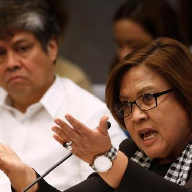 Philippines: Committee Chair Ousted for Death Squad Inquiry