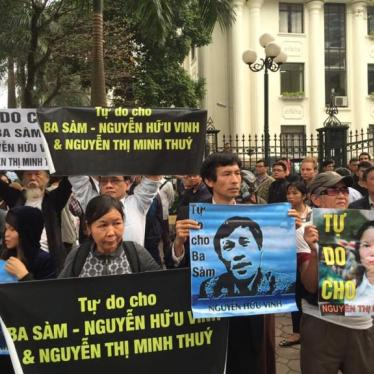 Vietnam: Free Imprisoned Bloggers