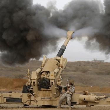 Yemen: Embargo Arms to Saudi Arabia